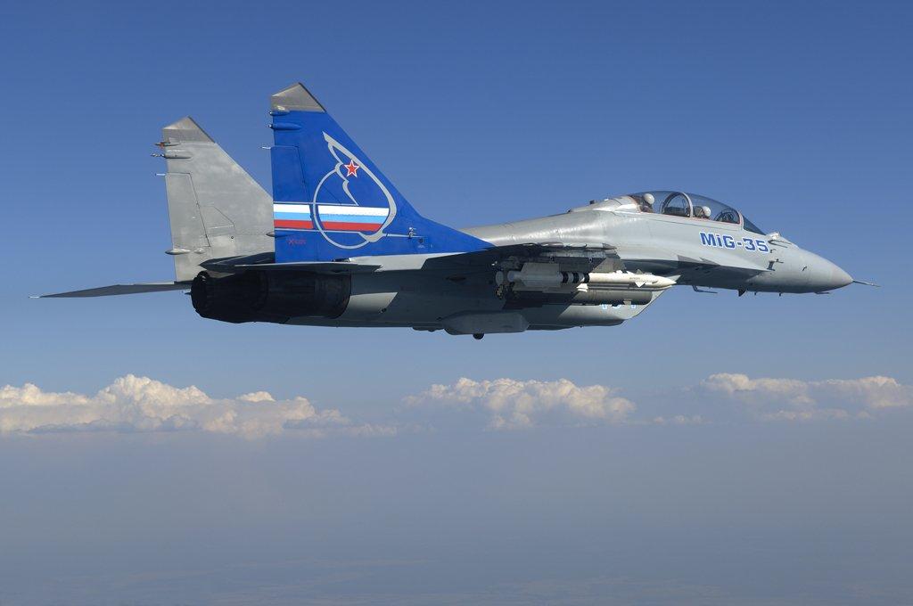 Новый истребитель МиГ-35 впервый раз представят публике