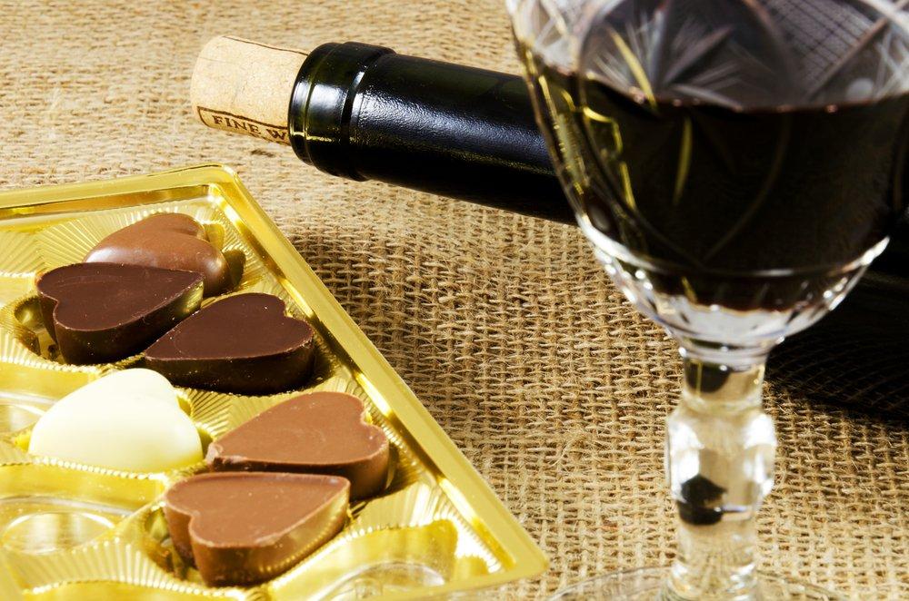 Ученые доказали, что вино ишоколад неприносят пользу
