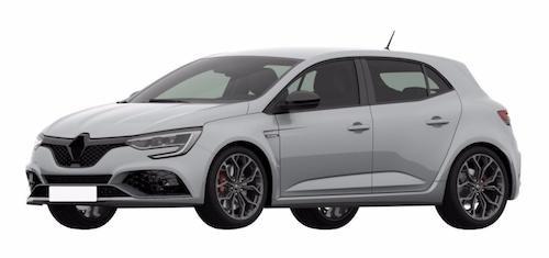 В Сети нашли патентные изображения Renault Megane RS