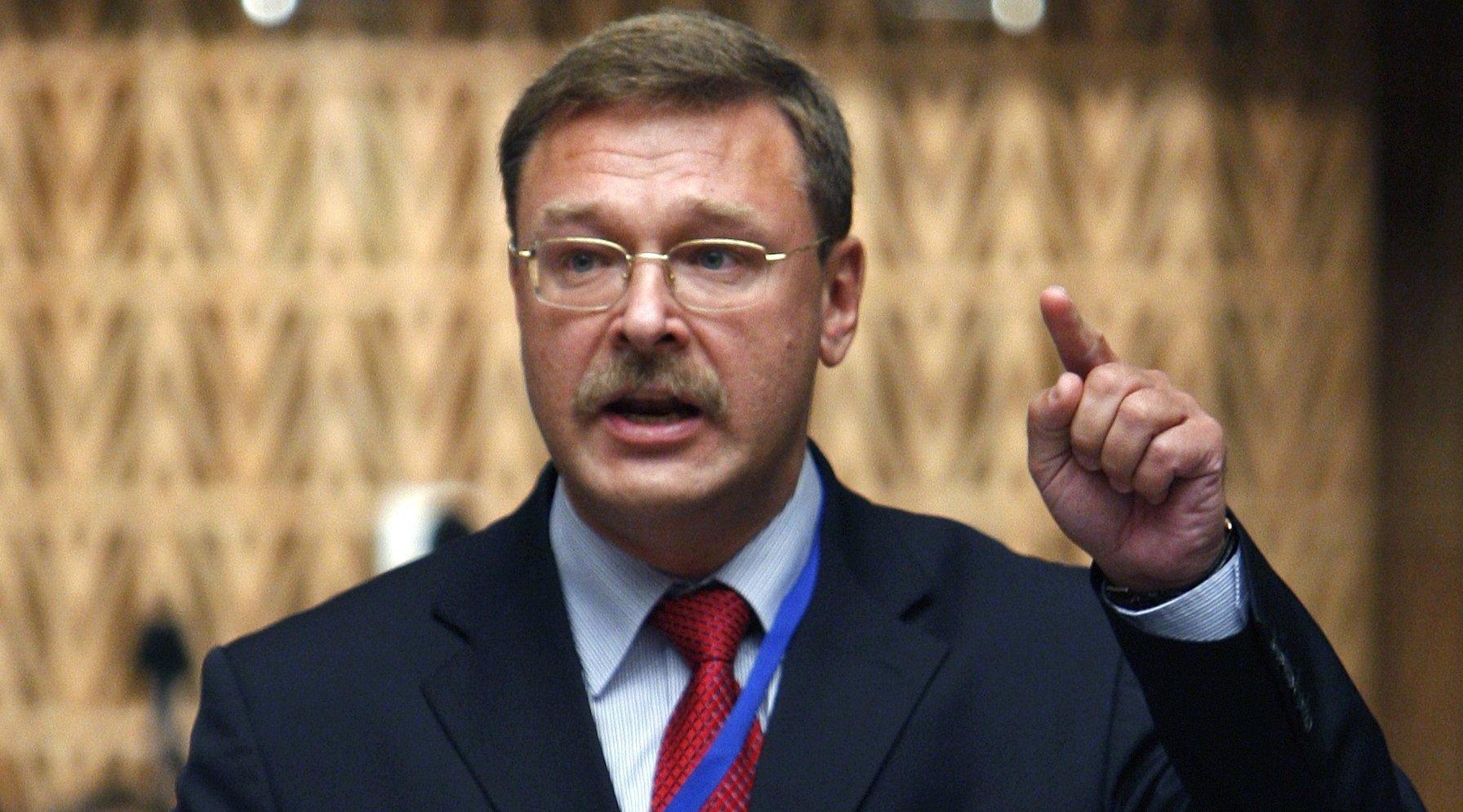 Косачев призвал ответить наарест русской дипсобственности вСША