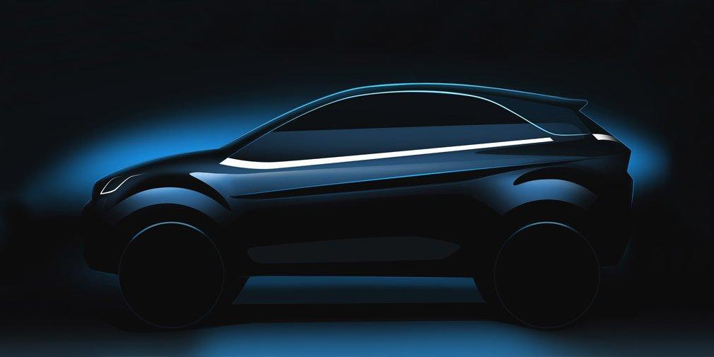 Tata Motors обнародовала вглобальной web-сети тизер конкурента Форд EcoSport