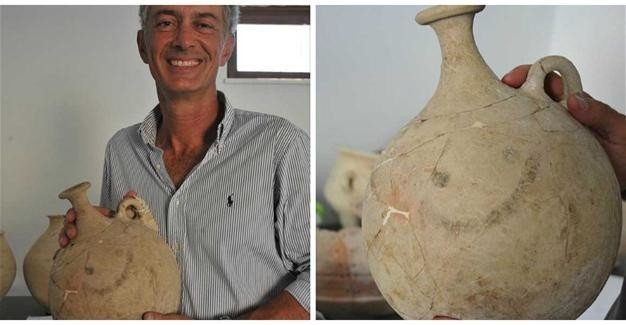 Древнейший смайлик отыскали вТурции