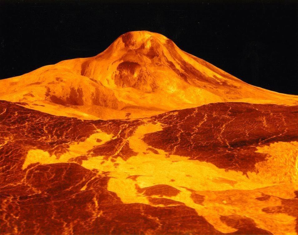 Подводные дюны наЗемле помогут пояснить необычную поверхность Венеры