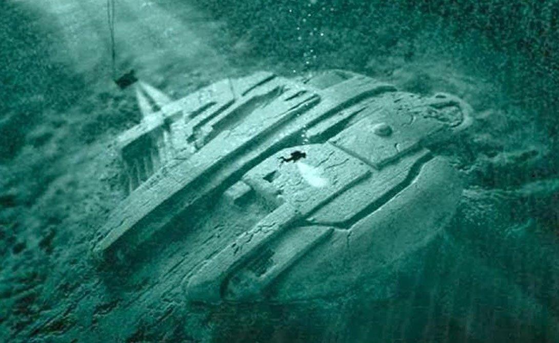 Надне моря найден инопланетный корабль— тайна Балтийской аномалии раскрыта