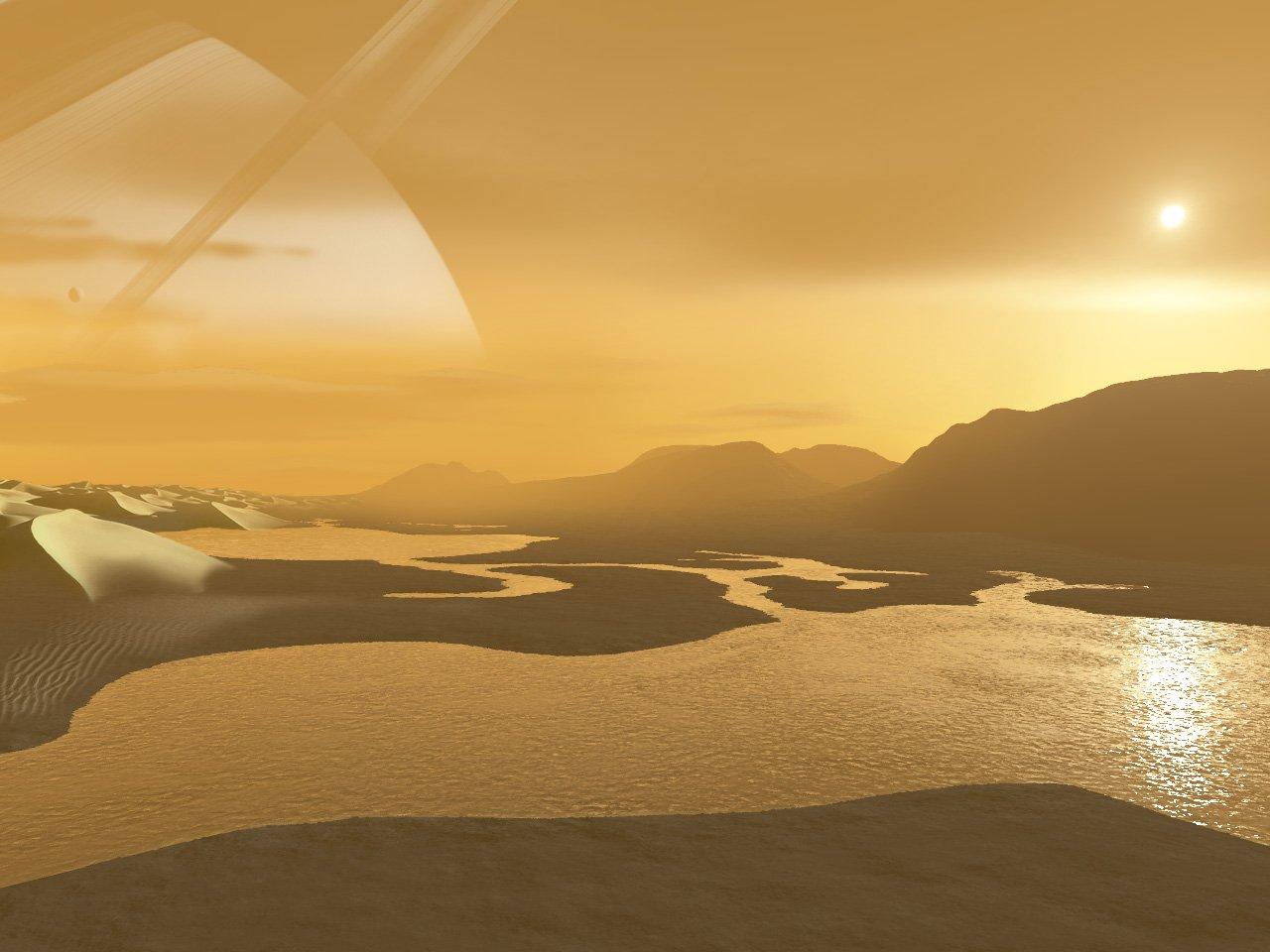 Население Земли должно вместо Марса колонизировать Титан— Ученые