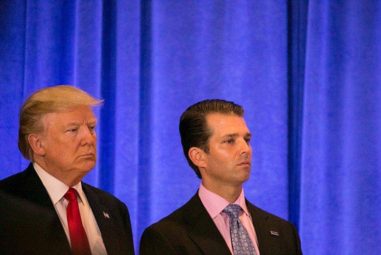 Сына Трампа вызвали надопрос поделу освязях сРоссией