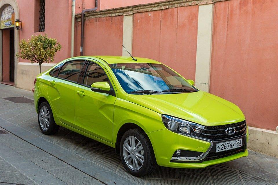LADA Vesta поднялась в европейском ТОП-100 автомобилей на 24 позиции вверх
