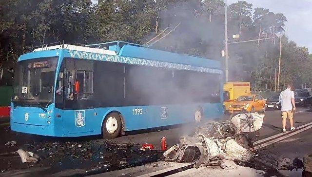 Полицейские установили личность предполагаемого виновника массовой трагедии наВолоколамском шоссе