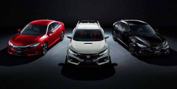 Обновлённый Honda Civic дебютировал на рынке Японии