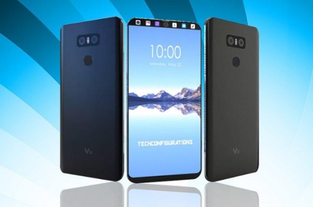 Навидео был представлен новый флагманский смартфонLG V30