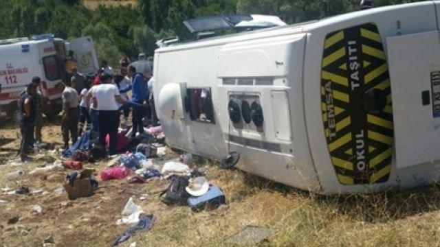 ВТурции разбился автобус стуристами