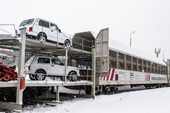 «Азия Авто» поставил вКитай около 700 автомобилей LADA