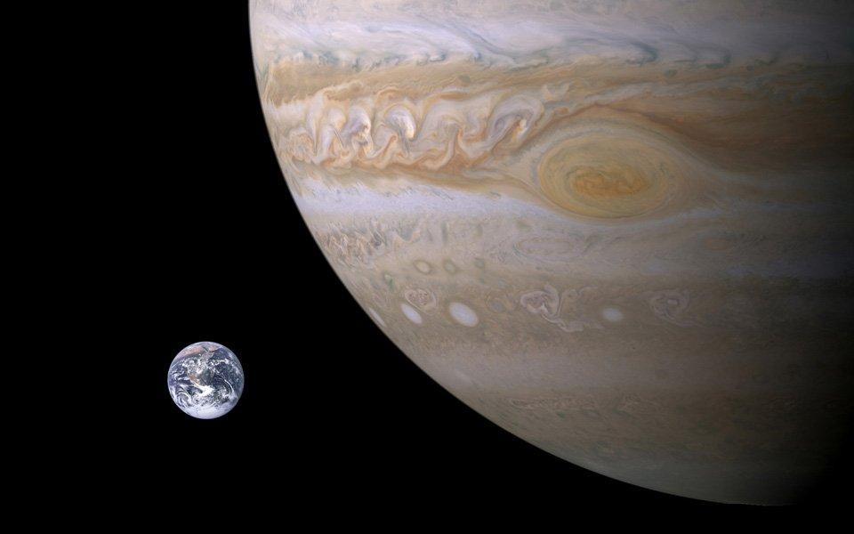 Жизнь наЗемле существует благодаря Юпитеру— Ученые