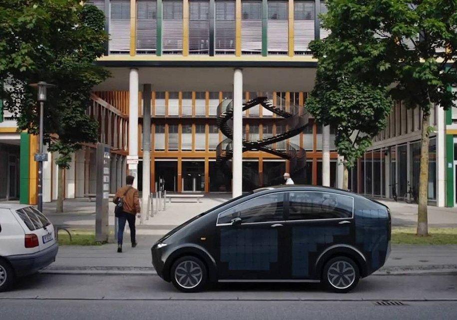Sono Motors представила солнечный электромобиль Sion