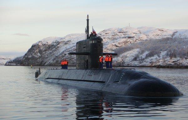 В ВМФ России сообщили об оснащении субмарин анаэробной установкой