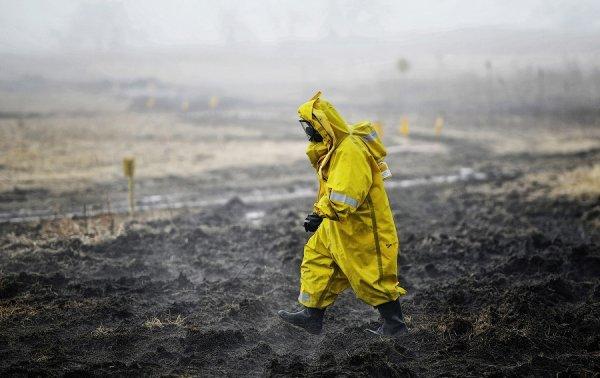 В Киеве рассказали об угрозе радиационного заражения на Донбассе