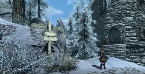 В Skyrim появилось поселение из Oblivion