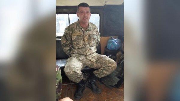 Под Песками был взят в плен майор ВС Украины