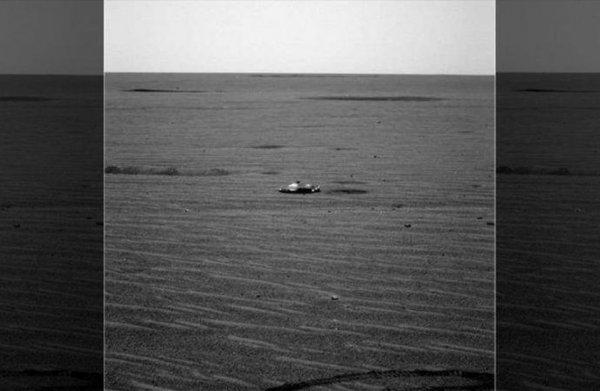 На Марсе зафиксировали непонятный металлический предмет