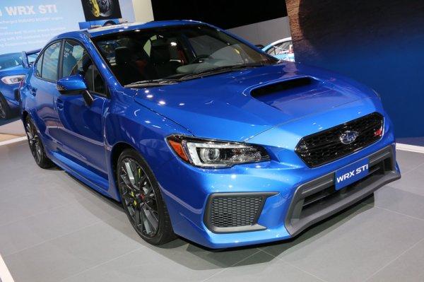 В России будут продавать обновленные Subaru WRX и WRX STI