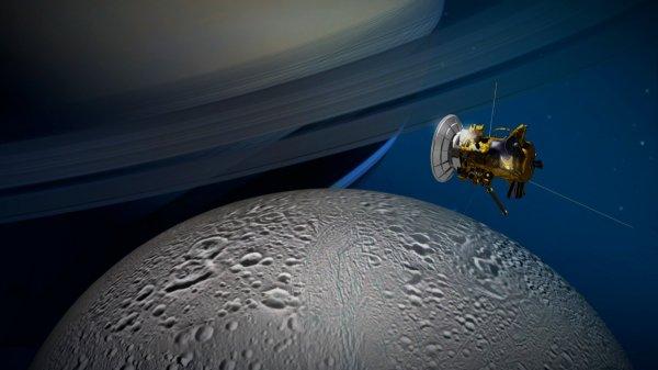 Cassini запечатлел детальные снимки Эпиметея