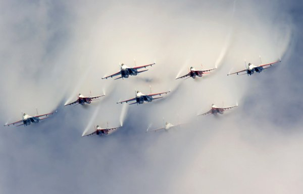 В Петербурге в честь 105-летия ВКС РФ состоится выступление «Стрижей»