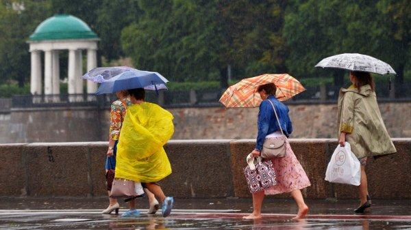 Синоптики обещают москвичам дождливую субботу