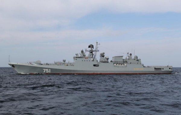 """Российский фрегат """"Адмирал Эссен"""" из Крыма направился в Сирию"""