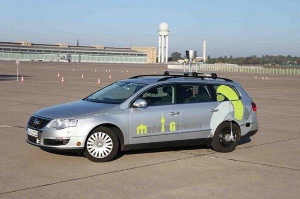 В Германии выедут на дороги роботизированные такси
