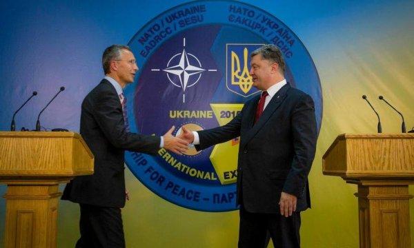 В Киеве проведут встречу Порошенко и Столтенберг