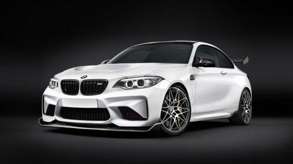 """""""Горячее"""" купе BMW 2-Series M2 CS оснастят 402-сильным двигателем"""