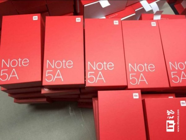 Стали известны технические характеристики смартфона Xiaomi Redmi Note 5А