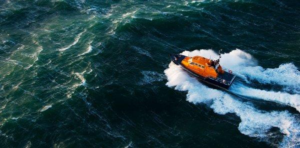 В Китае представили первый спасательный беспилотный катер
