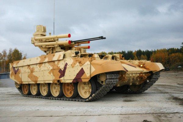 """Военные в России хотят восстановить секретную боевую машину """"Гадюка"""""""