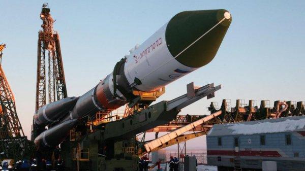 """С Байконура произошел старт ракеты """"Союз-2.1А"""""""