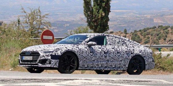 На дорожных тестах обнаружена спортивная версия Audi A7
