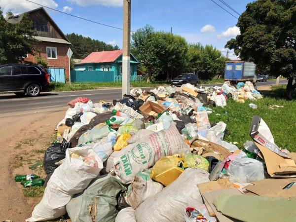 Частный сектор Ижевска утопает в мусорных свалках