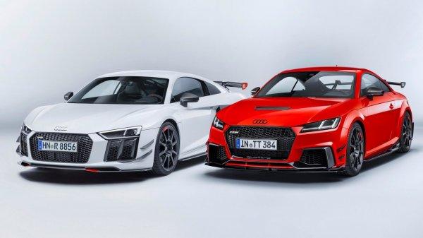Audi R8 и Audi TT получат крутой заводской тюнинг