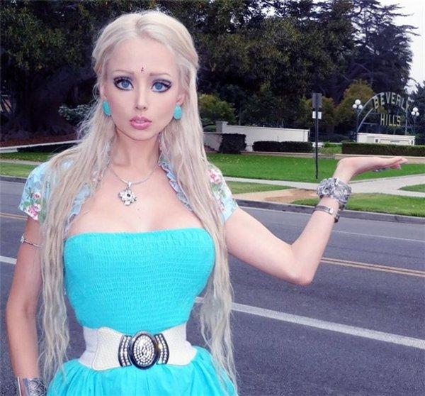 Одесская Барби посоветовала известной модели меньше есть, нежели удалять ребра
