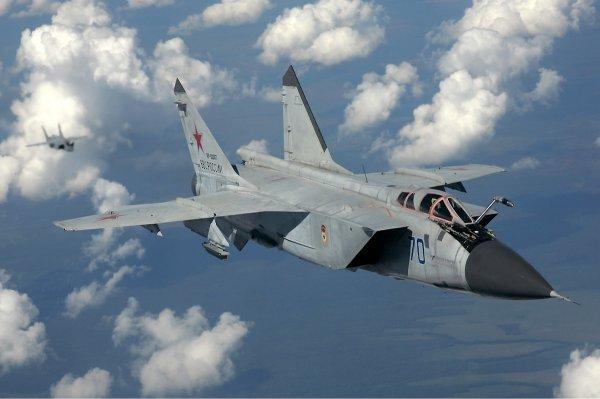 МиГ-31 ликвидировали сверхзвуковую ракету в стратосфере