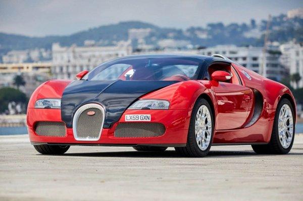Bugatti Veyron 2009 года выпуска продается за $1,7 млн