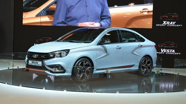 Спортивный седан LADA Vesta Sport поступит в продажу весной 2018 года