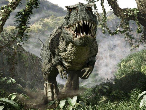 Ученые: Тираннозавры бегали медленнее человека