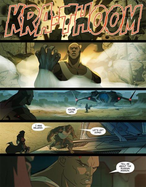 Blizzard презентовала комикс о Кулаке Смерти