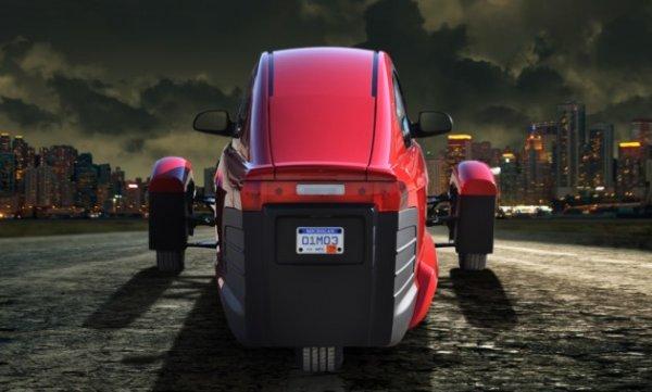 Компания, создающая трехколесный автомобиль, оказалась на грани банкротства
