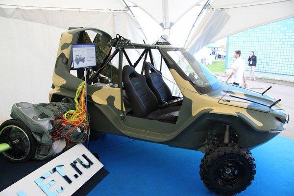 Ставропольцы представили на выставке МАКС-2017 бегалёт