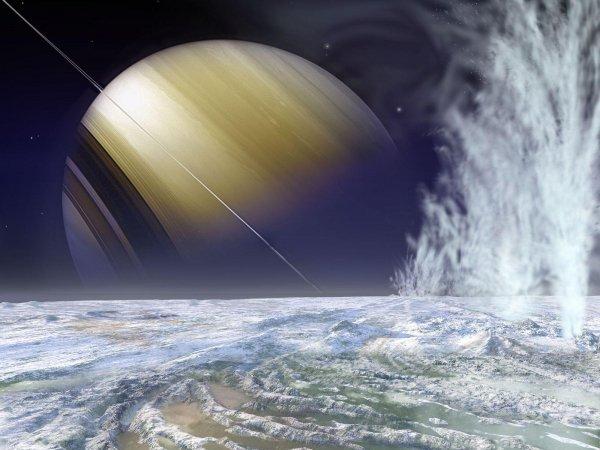 Ученые придумали, как рассмотреть таинственных обитателей луны Сатурна: Существует ли жизнь подо льдами спутника?