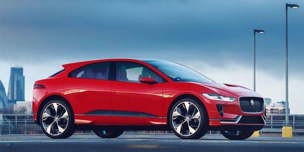В России появится электрический кроссовер Jaguar I-Pace