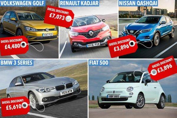 В Великобритании устроили распродажу дизельных автомобилей