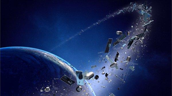 NASA установит на МКС датчик космического мусора